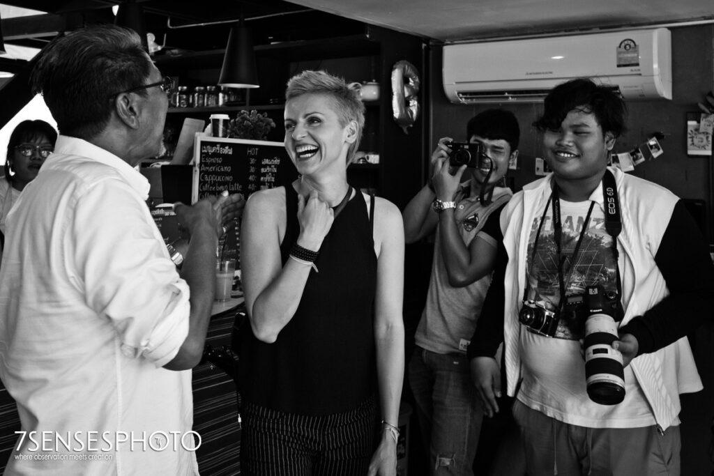 warsztat fotografii portretowej Khon Kaen Tajlandia akademia fotografii w drodze